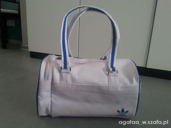c0be268d2a2d8 śliczna biała torebka firmy adidas w Torebki na co dzień - Szafa.pl