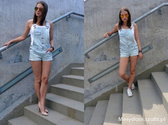 Mój styl DUNGAREES 2 LOOKS