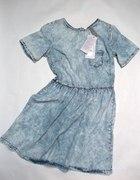 Primark Sukienka Jeans Dżins Zamek z tyłu