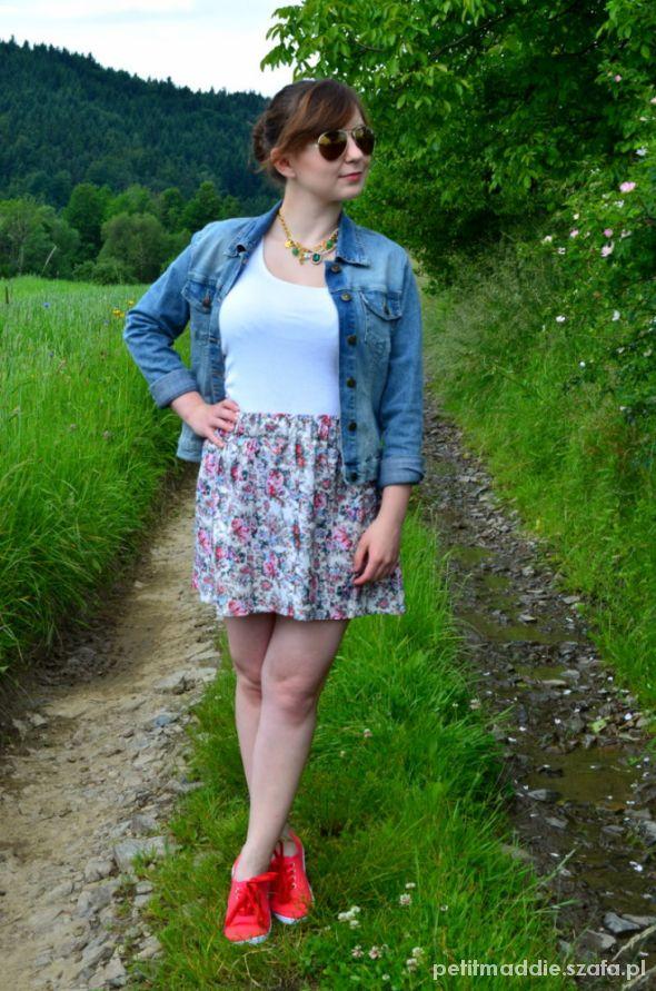 Blogerek FLOWER SKIRT