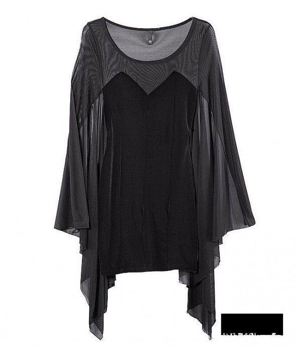 Sukienka nietoperz H&M