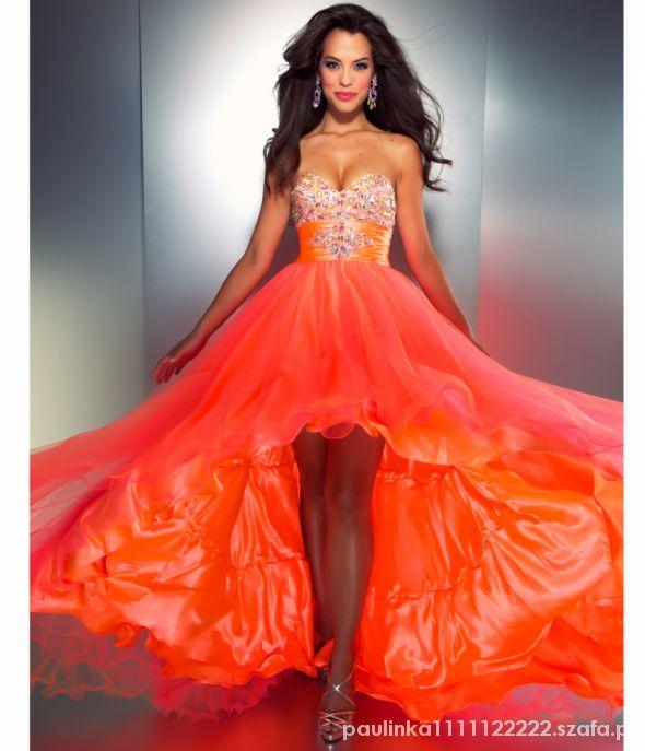 Wieczorowe Prześliczna suknia wieczorowa