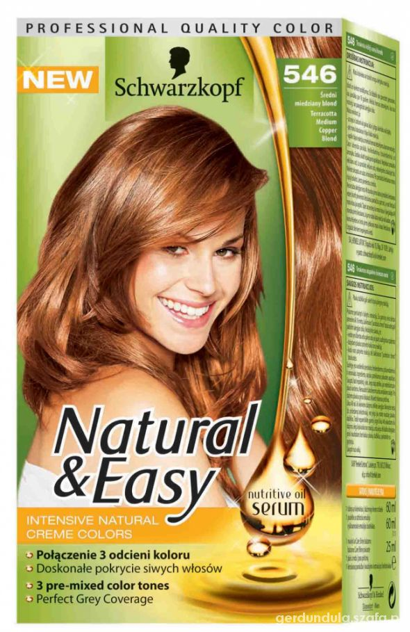 Poszukuję farb Natural & Easy lub Syoss...