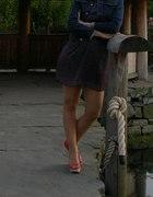 Sukienka w groszki vintage