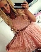 Sukieneczka koronkowa