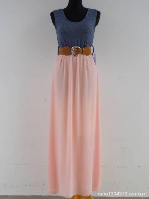 maxi suknia