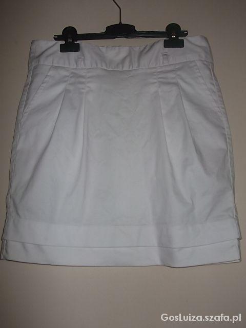 Spódnice Spódniczka mini biała Reserved Cena z wysyłką