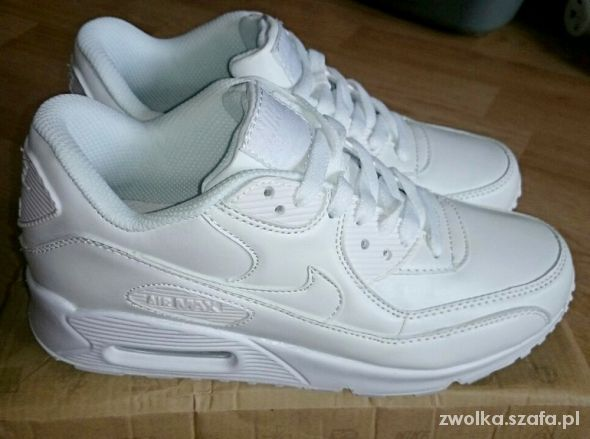 timeless design 41e1a 296d3 nike air max biale od 36 do 41 real foto