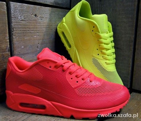 Nike air max hyperfuse neon kolory 36 do 40