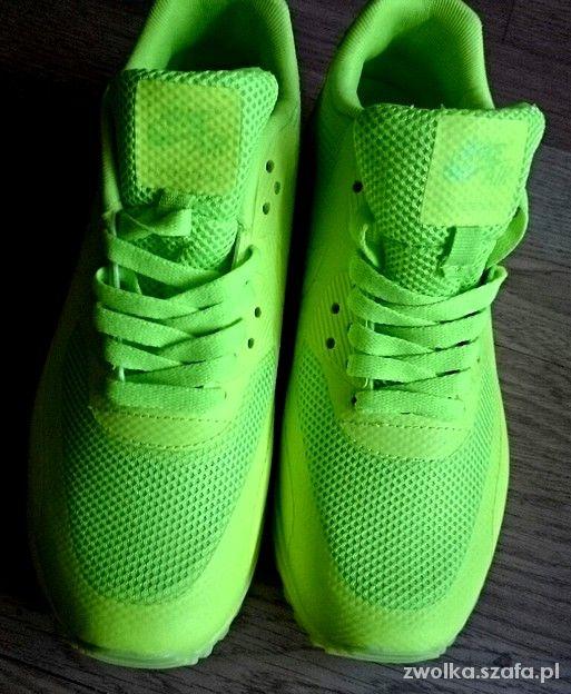Nike air max hyperfuse neon kolory 36 do 40 w Sportowe