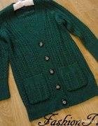 Zielony sweter vintage