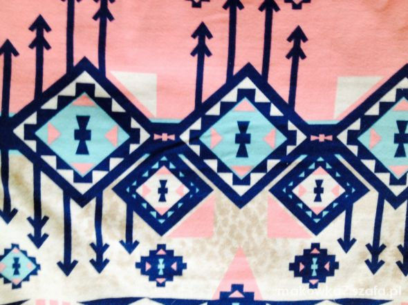 Spódnice Spódniczka aztecki wzór bersha