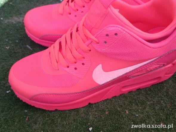 NIKE AIR MAX różowe neon pink w Sportowe Szafa.pl