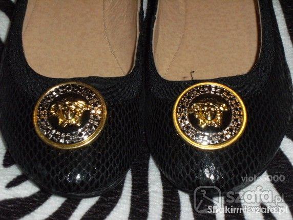 Obuwie Baleriny Versace