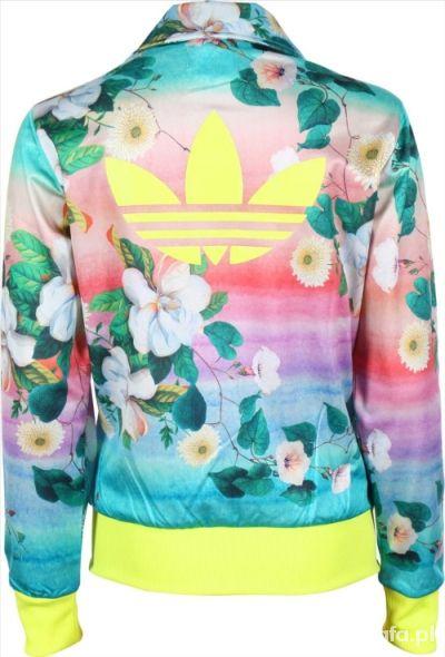 Ubrania Bluza Adidas Floralina