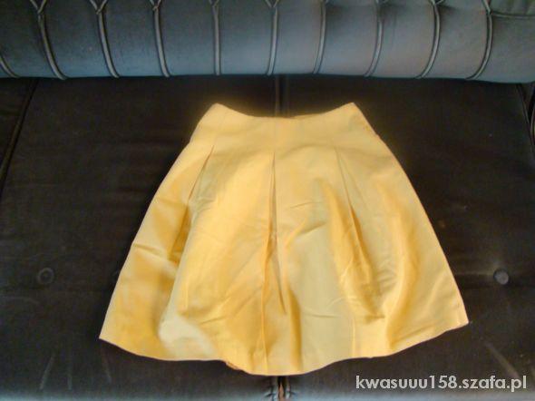 Spódnice Żółta spódnica RESERVED 34 XS