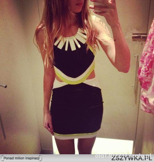 Mój styl Sukienki z wycięciami