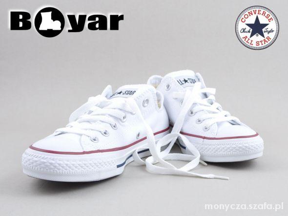białe converse rozmiar 40