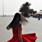 Kloszowana sukienka