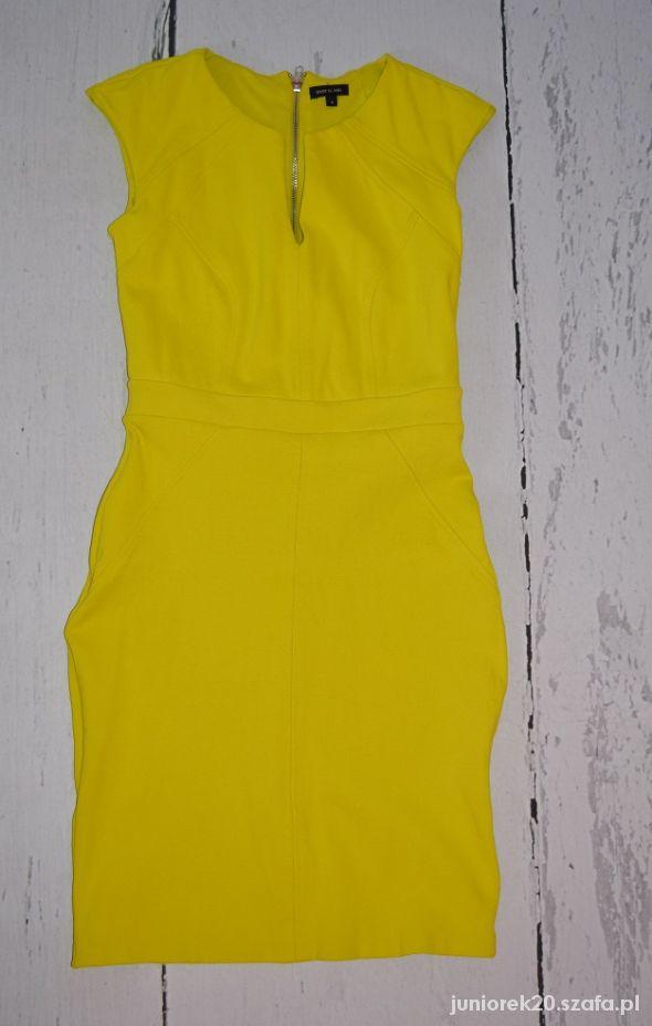 Rier Island sukienka limonkowa...