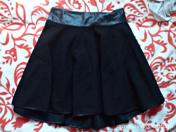 Spódnice Spódniczka rozkloszowana czarna