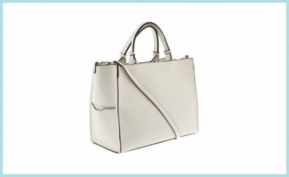 biała torebka PARFOIS...