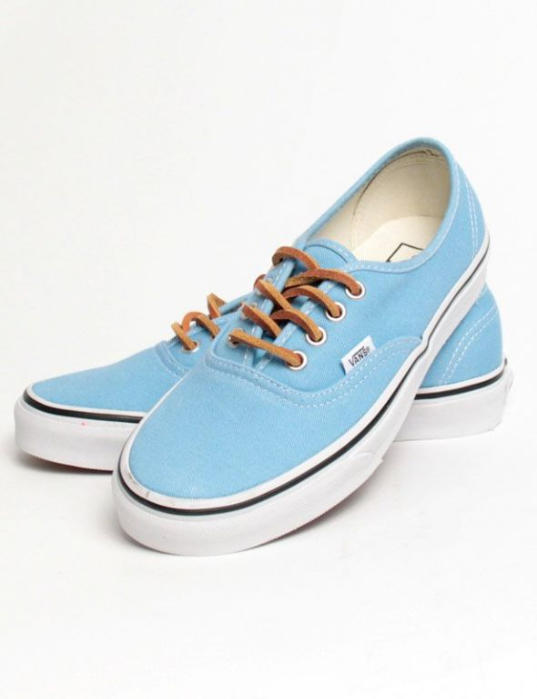 Trampki VANS AUTHENTIC BRUSHED TWILL BACHELOR błękitne
