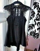 Genialna czarna zdobiona baskinka
