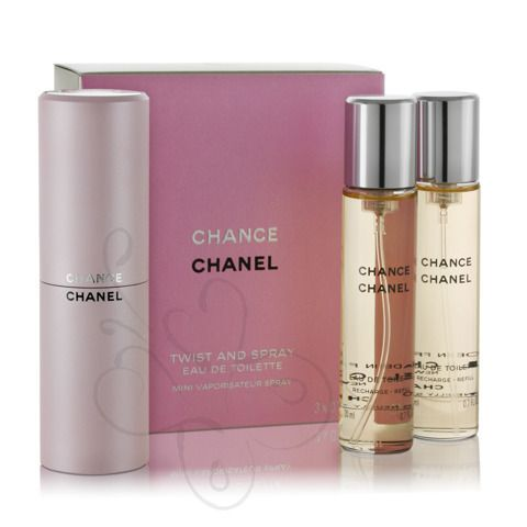 Perfumy chanel chance 3x20ml