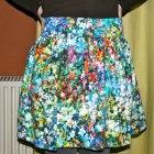 zara floral spódniczka XS