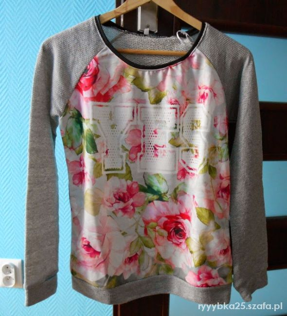 Ubrania Bluza kwiaty floral butik