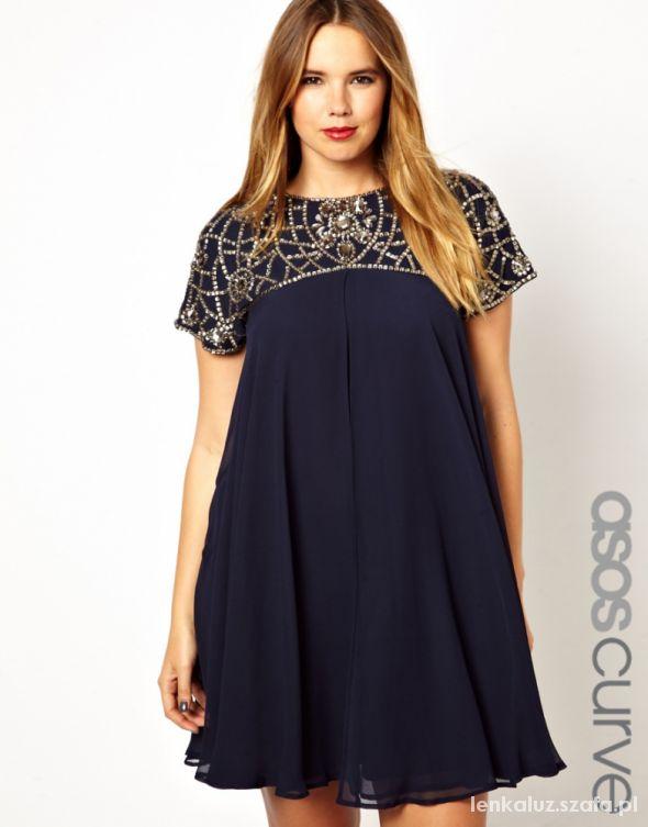 8f70bac473 Sukienki dla puszystych nowości 2019 - Szafa.pl