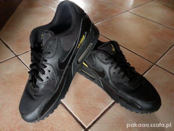 buty air max czarne