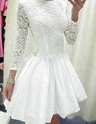 Biała sukienka mosquito...