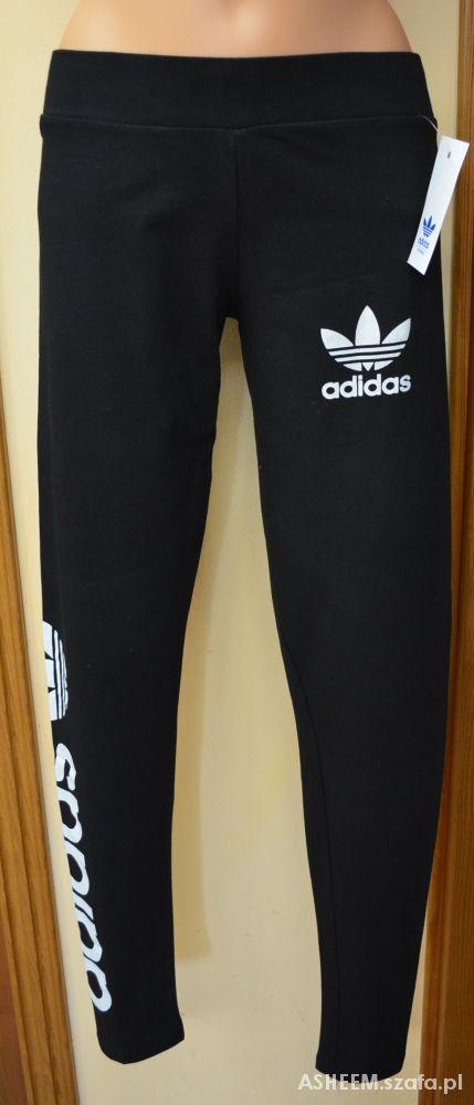 legginsy adidas originals czarne
