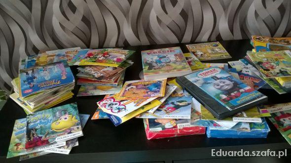 Zabawki Bajki na płytach dla dzieci całe pudło