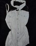 jeansowa koszula roz S