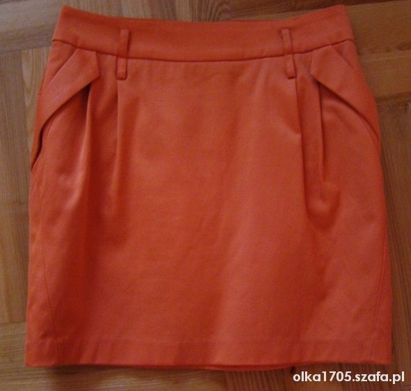 Spódnice Piękna neonowa spódniczka tulipan