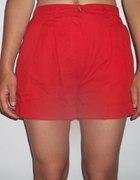 Spodenki eleganckie czerwone rozmiar S