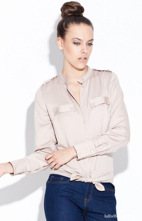 Bluzki koszulowe damskie