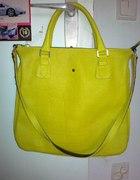 piękna limonkowa torebka na ramię do ręki Batycki