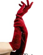 Długie rękawiczki burleska