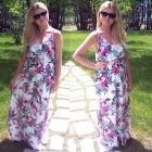 floral maxi dress H&M