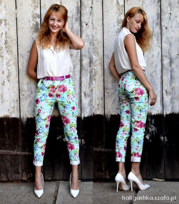 Eleganckie Floral pants