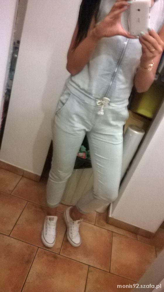 Mój styl kombinezon jeans
