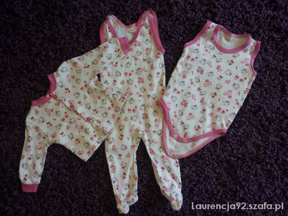 Komplety Komplet body bluzeczka i pajac