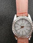 śliczny oryginalny zegarek next