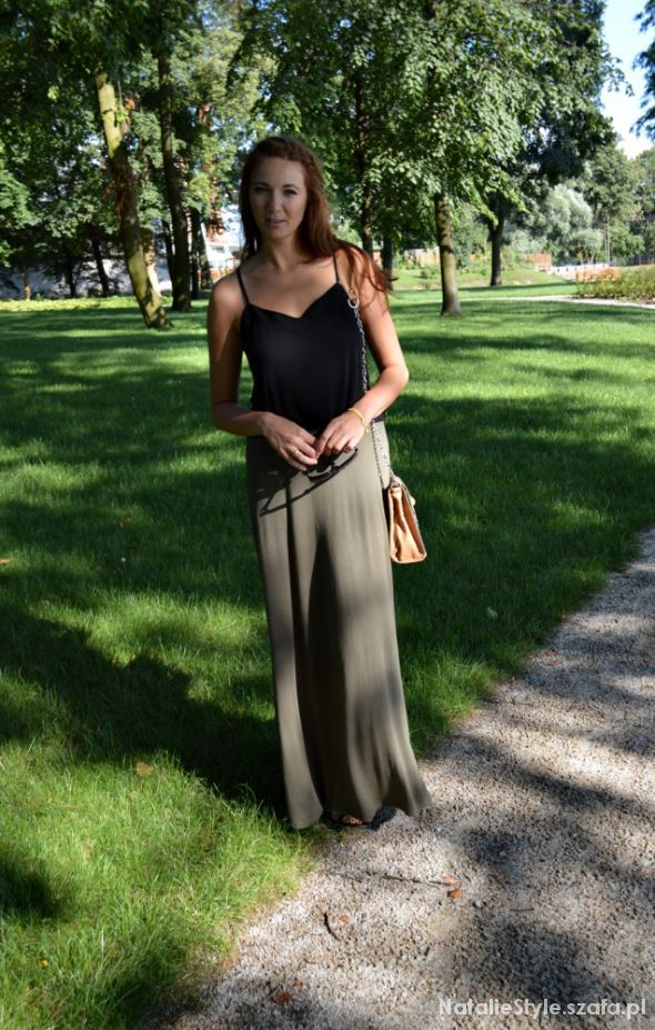 Blogerek maxi skirt