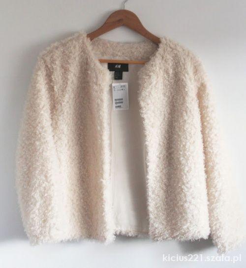 sweter narzutka h&M
