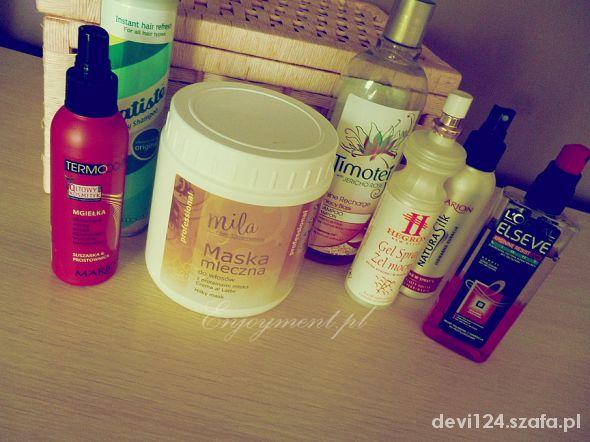 moje kosmetyki do pielęgnacji włosów part1